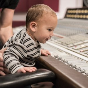 Michael In Front Of SSL 8000G+