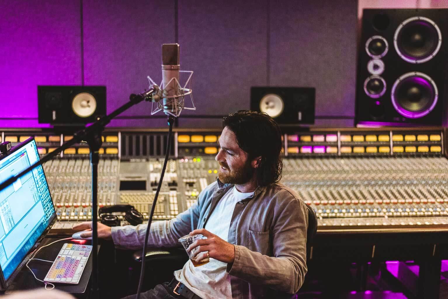 Nick Murphy Session @ IFMG Studios